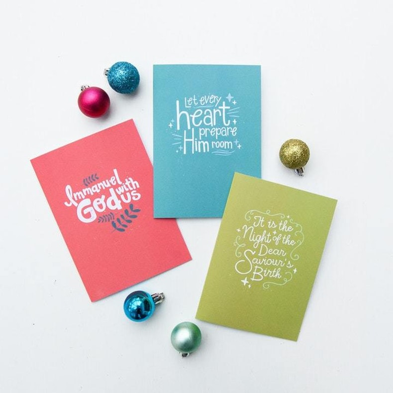Laurent Collective Christian Christmas Cards UK Cheerfully Given