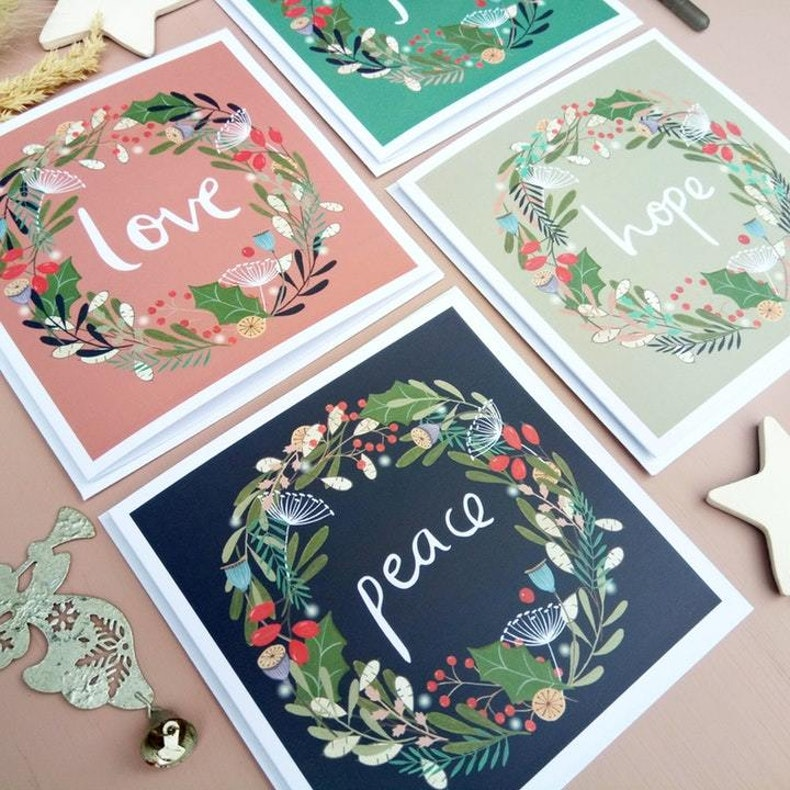 Leah and Libby Christian Christmas Cards UK Cheerfully Given