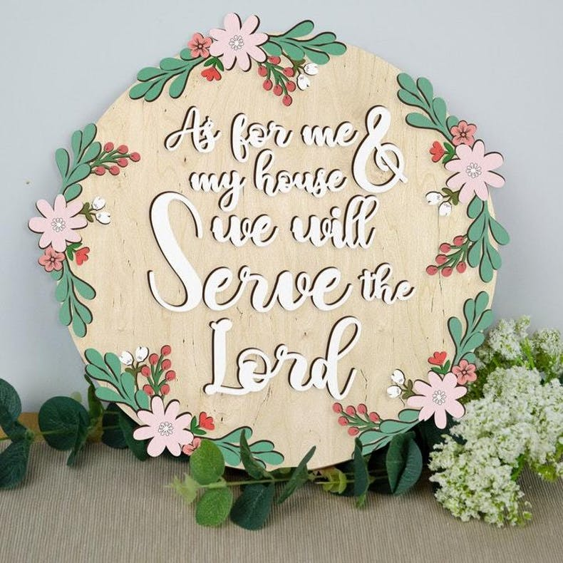 13  We Will Serve The Lord Birch And Tides