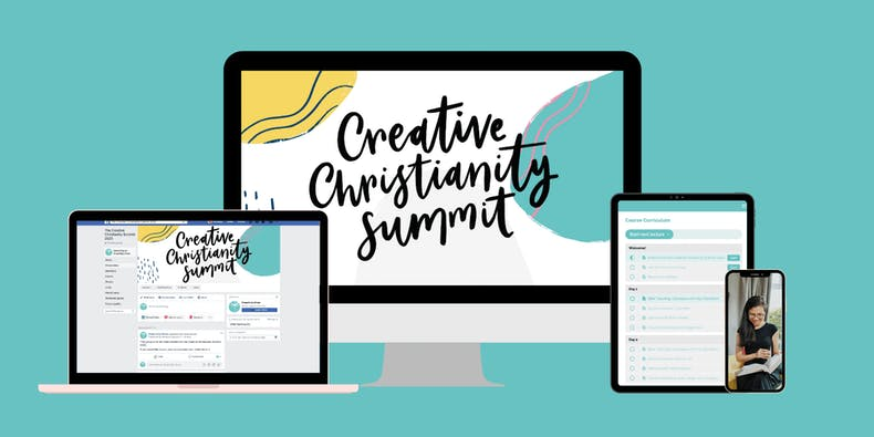 Creative Christianity Summit banner Cheerfully Given