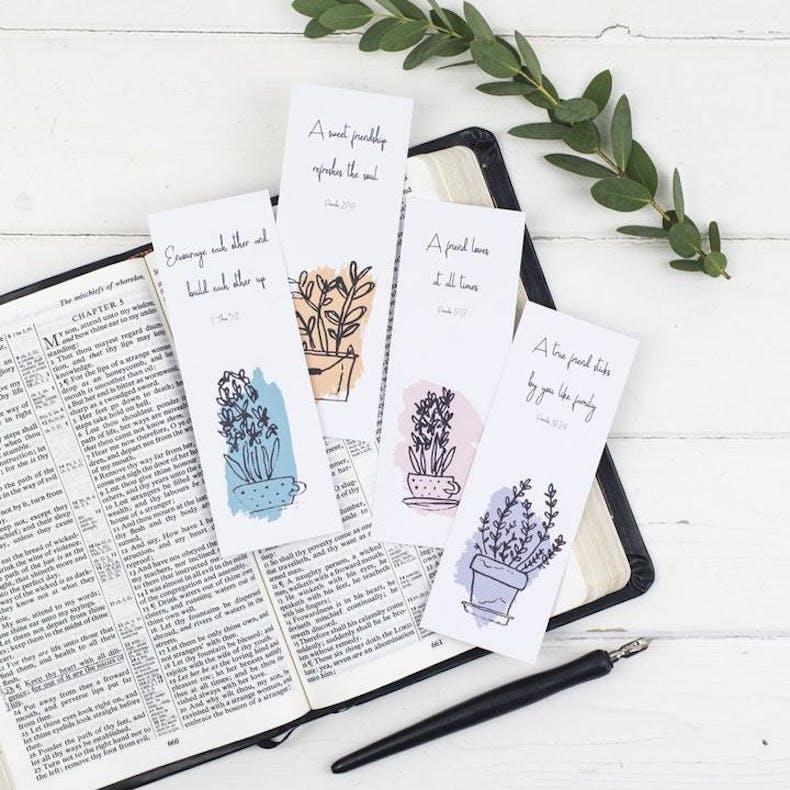 3 Bookmarks Scripture Bookmarks