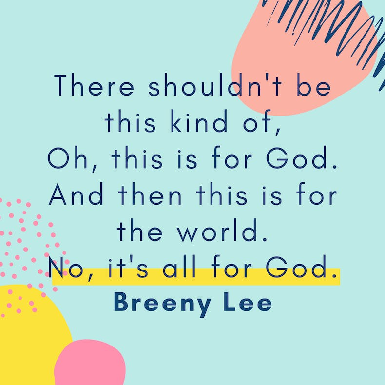 Cheerfully Given Breeny Lee Quote Creative Christianity Summit