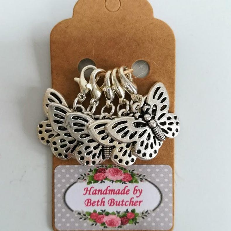 4 Stitch Markers Beth Butcher