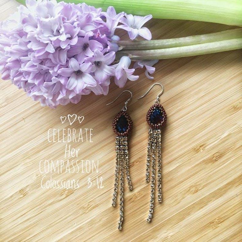 5 Earrings Fair Bloom
