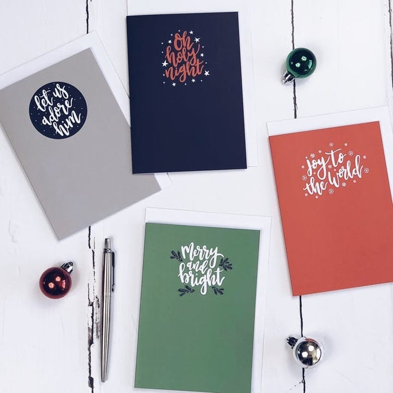 Izzy and Pop Merry and Bright Christian Christmas Cards UK | Cheerfully Given