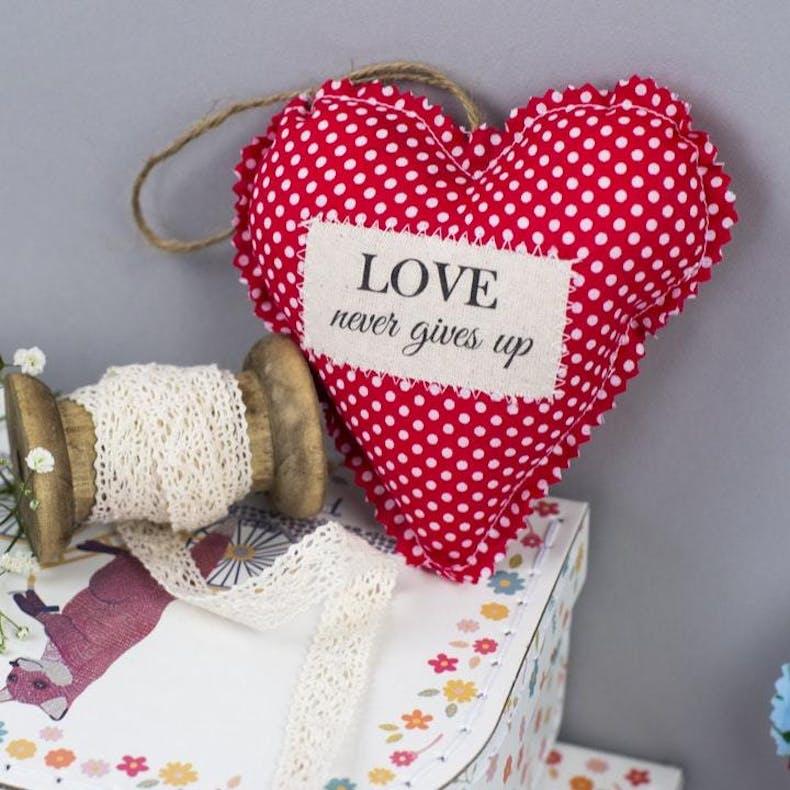 7 Fabric Heart Casamia designs