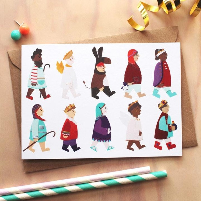 Laura Sayers Nativity Card Christian Christmas Cards UK | Cheerfully Given