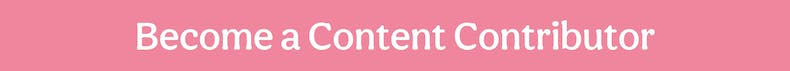 Become a Content Contributor Pink Banner