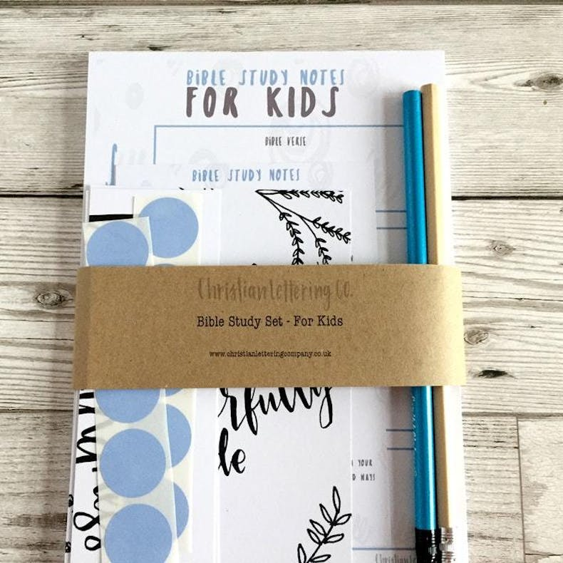 Bible Study Notes For Kids