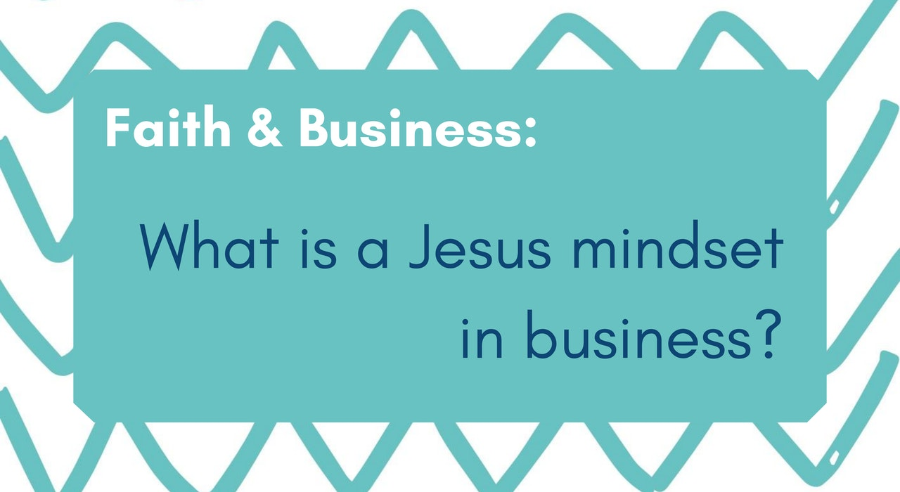 Blog headers Faith in Business at Cheerfully Given
