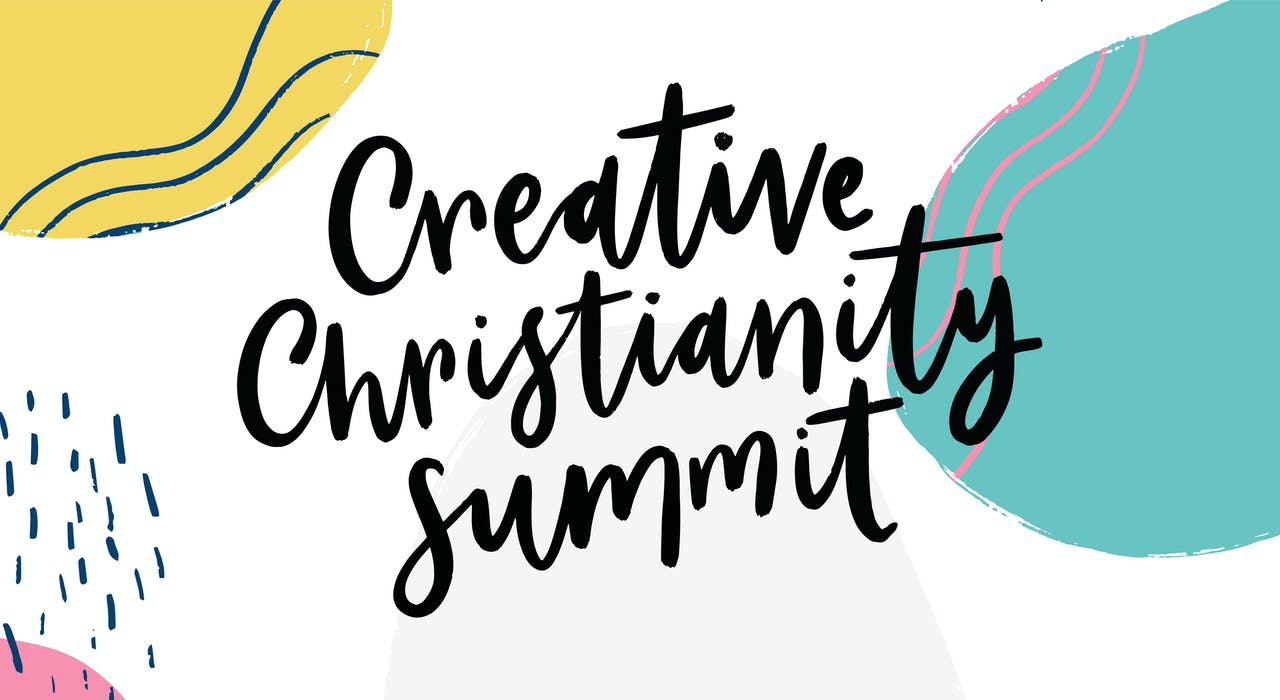 Creative Christianity Summit Logo for Facebook Group at Cheerfully Given