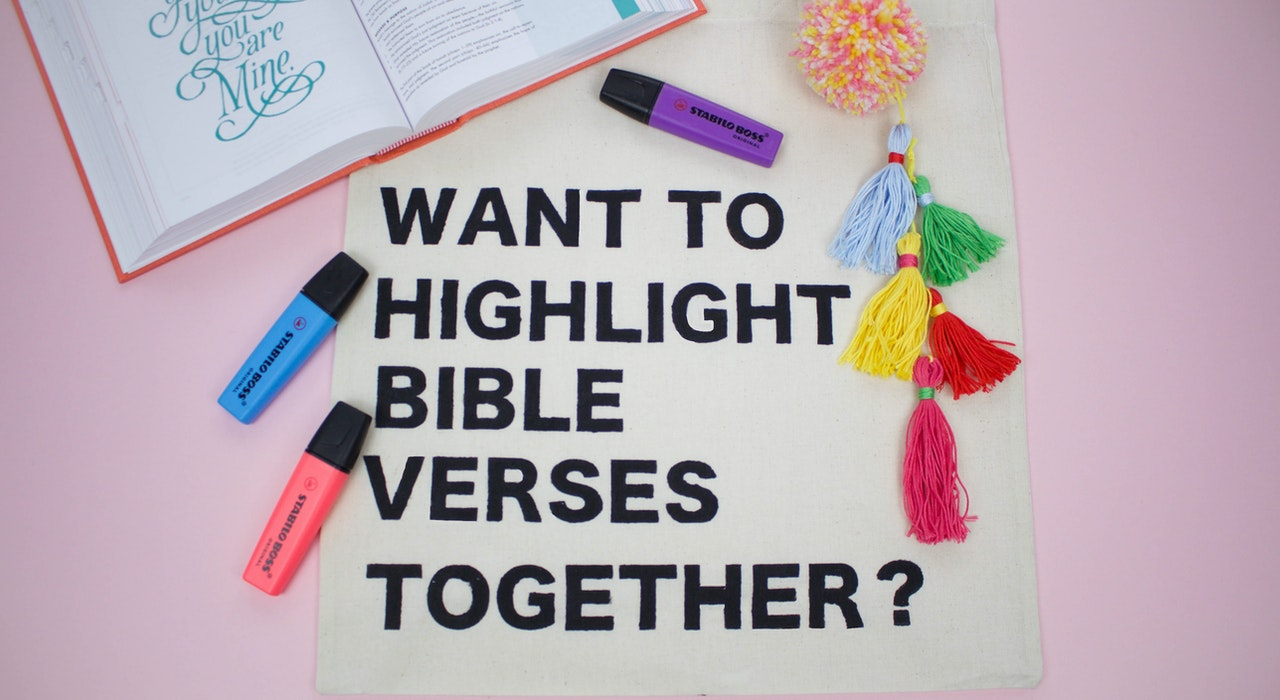 Chat Up Bible Bag