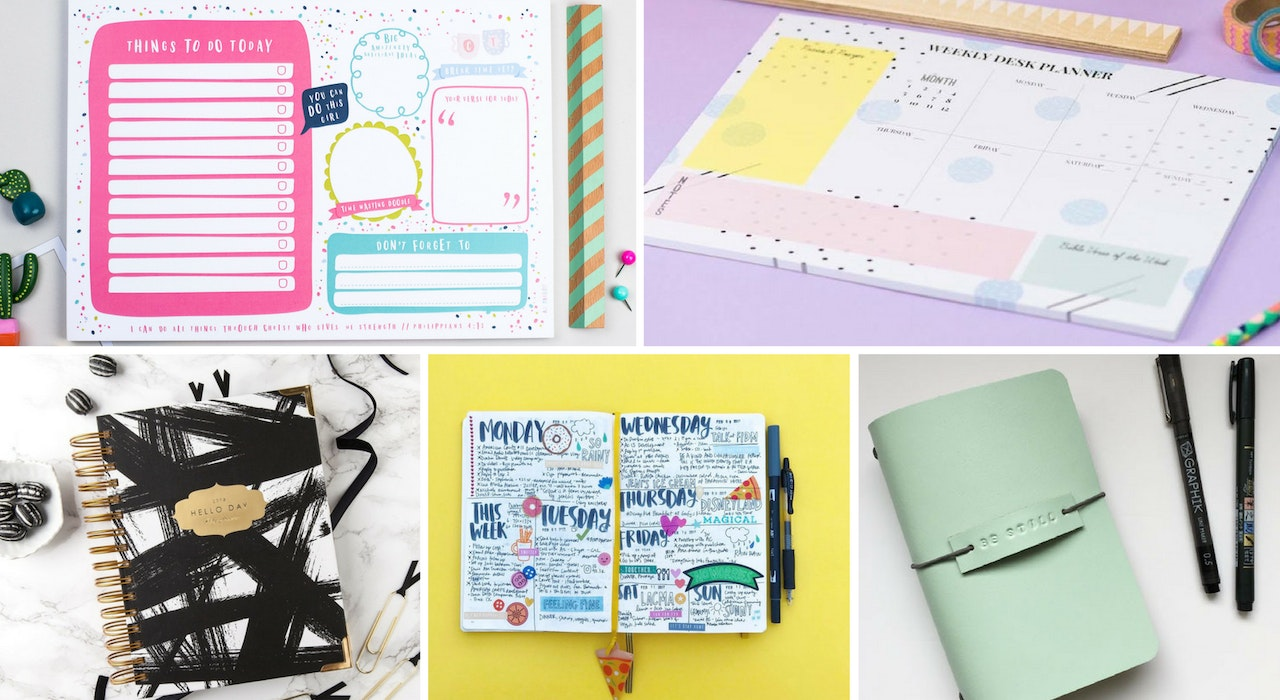 Cheerfully Given Our Favourite Christian Planners for 2018