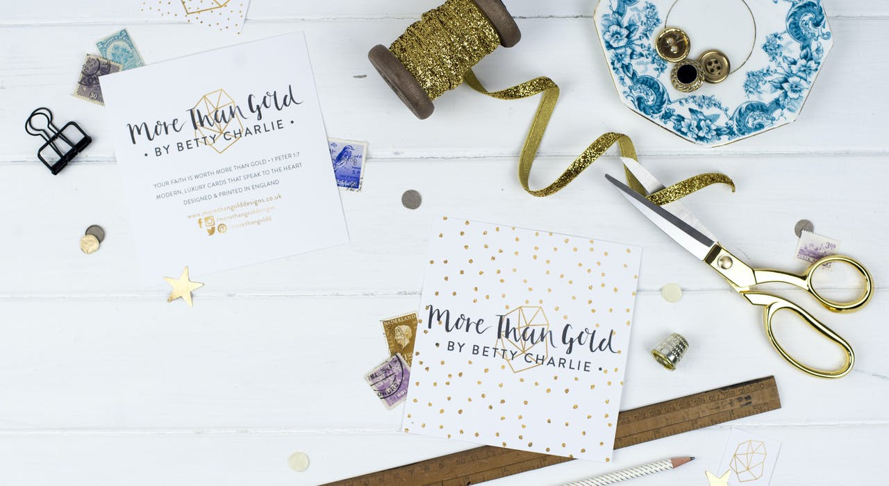 More than Gold Designs Cheerfully Given