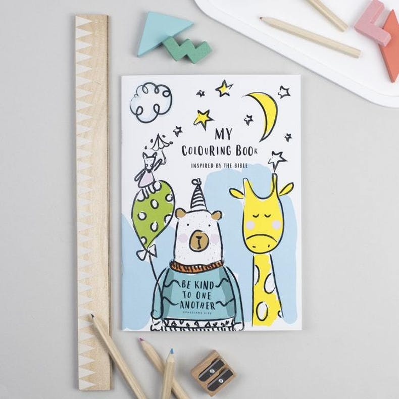 Christian Colouring Book for Kids Ali Marriott Stationery