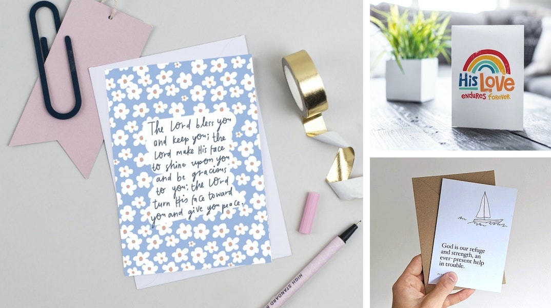 Christian Encouragement Cards UK | Cheerfully Given - Christian Cards UK