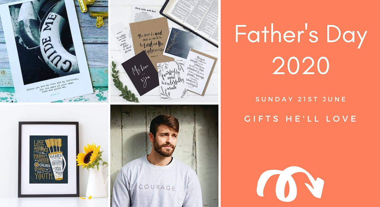 Christian Father's Day Gift Ideas Blog | Cheerfully Given - Christian Gifts UK