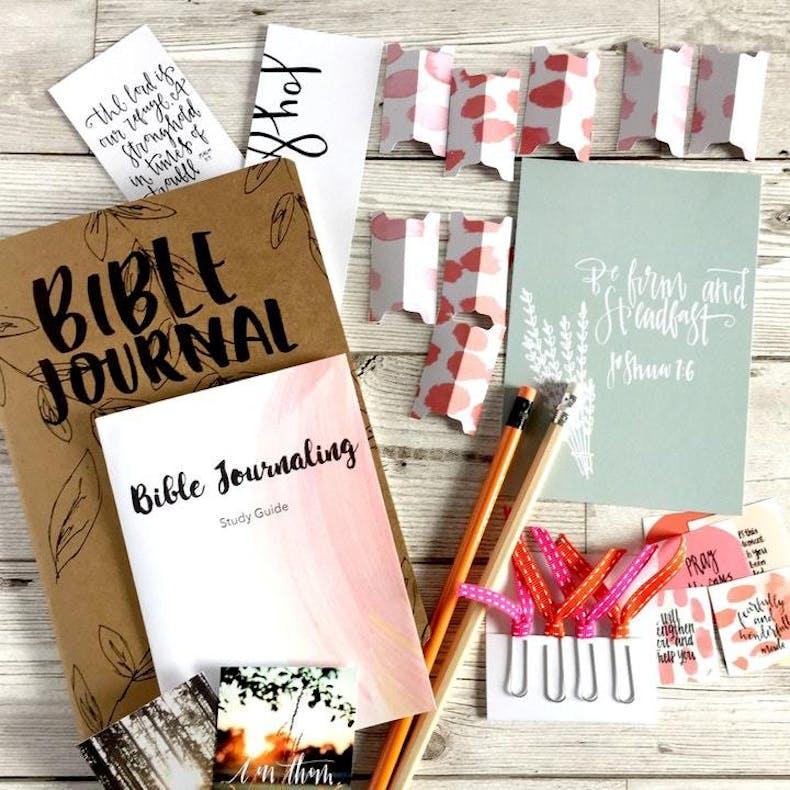 Christian Lettering Company Glory Bible Journaling Starter Kit