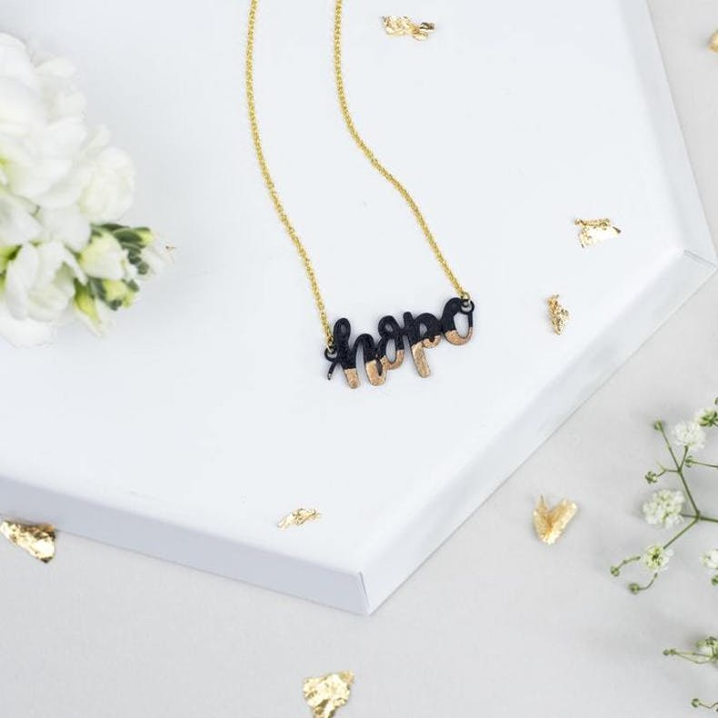 Christian Necklace - Hope by Bloom Jewellery