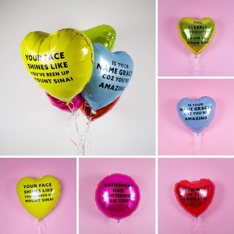 Christian Party Biblical Compliment Balloons