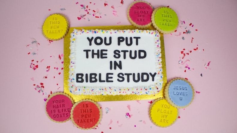Church cake - bible birthday wishes