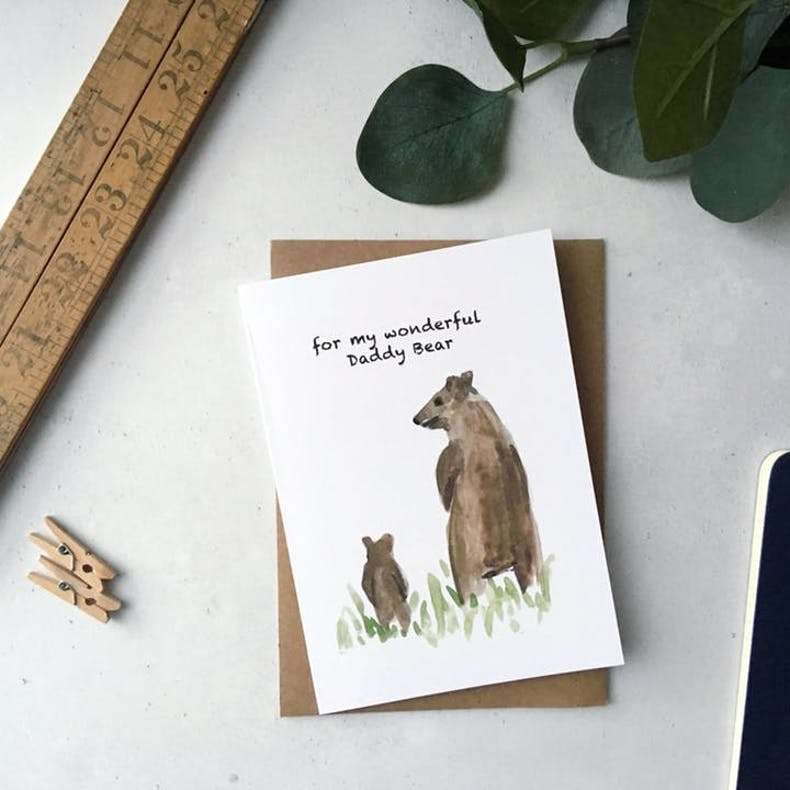 Daddy Bear Card | Father's Day Cards | Cheerfully Given - Christian Cards UK