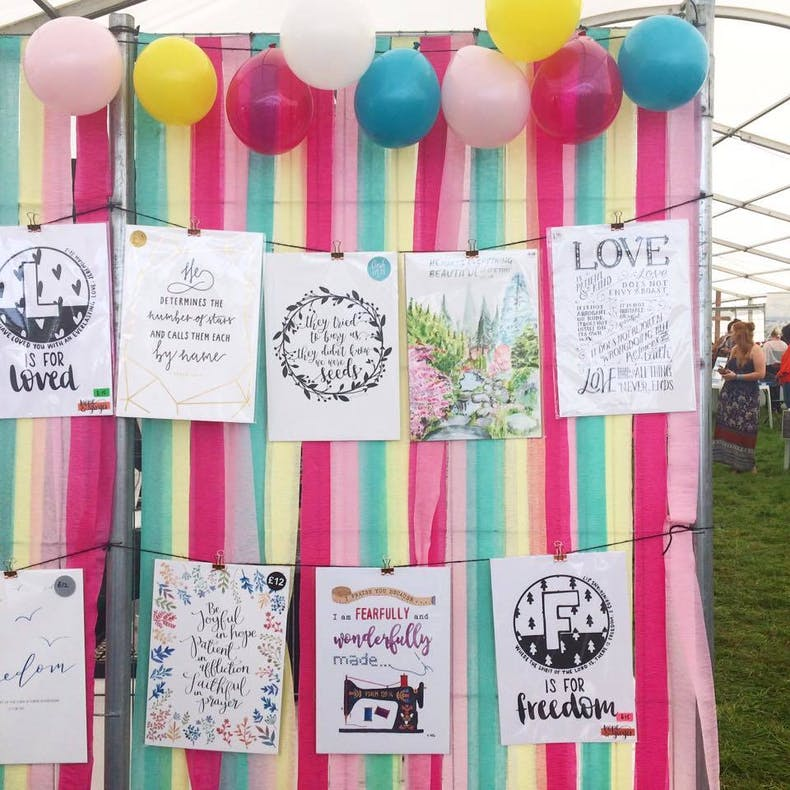 David's Tent 2017 Cheerfully Given Stand