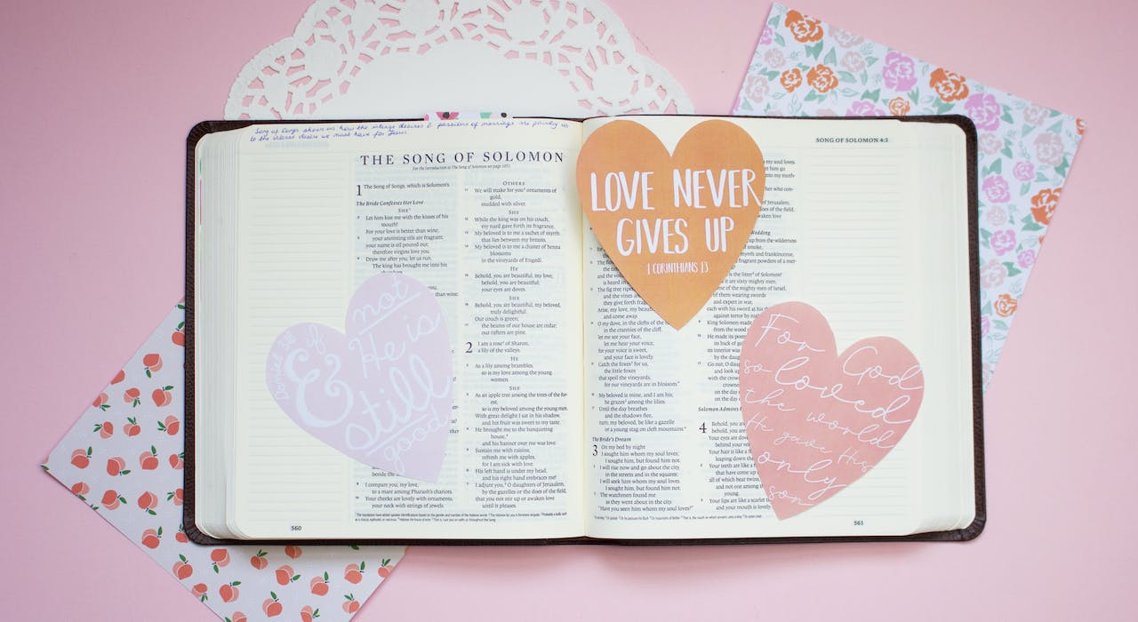 Free Bible Journaling Tip Ins Inspired by God's Love