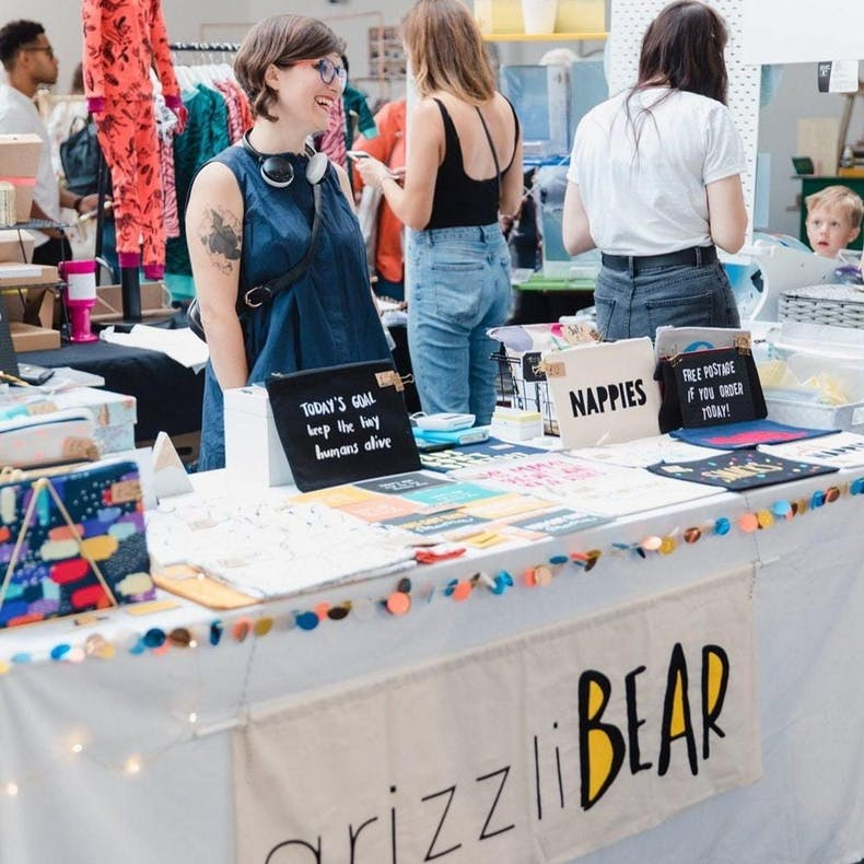 Jenny Baker | Grizzli Bear | Cheerfully Given