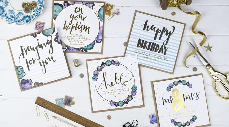 Christian Greeting Cards by More Than Gold Designs