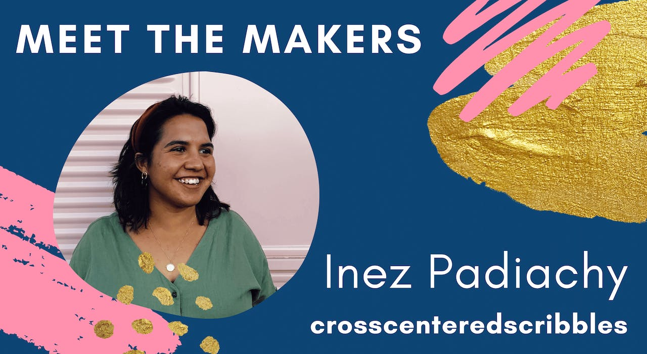 Meet the Makers crosscenteredscribbles Inez Padiachy   Cheerfully Given Blog Series