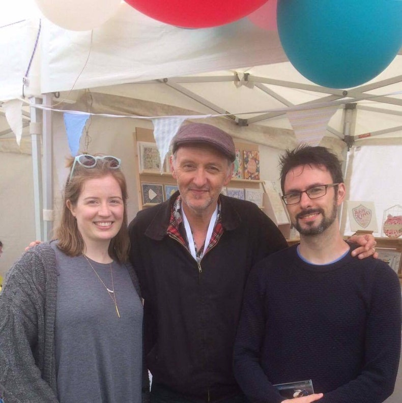 Meeting Stuart Townend at Big Church Day Out