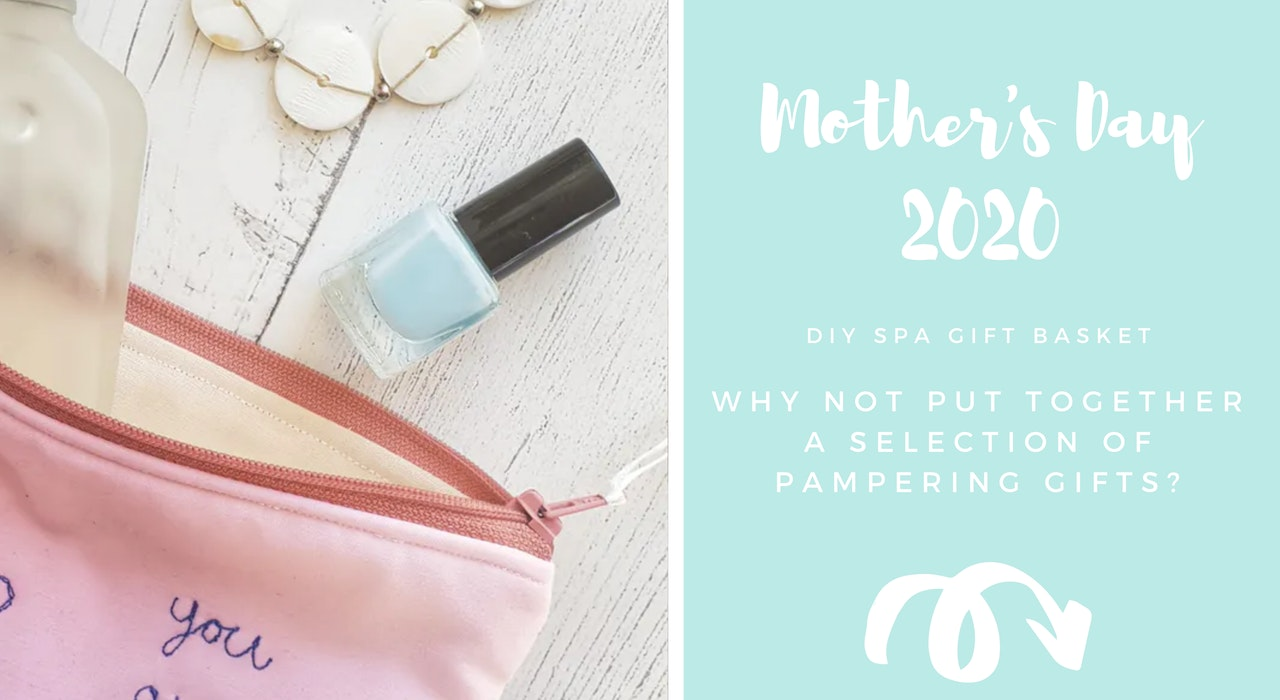 Mothers Day DIY Spa Basket Gift Idea | Cheerfully Given - Christian Gifts UK