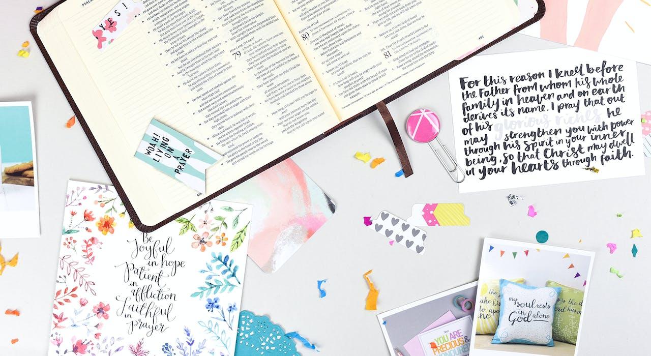 Bible Journaling Supplies UK and Journaling Bible UK | Cheerfully Given