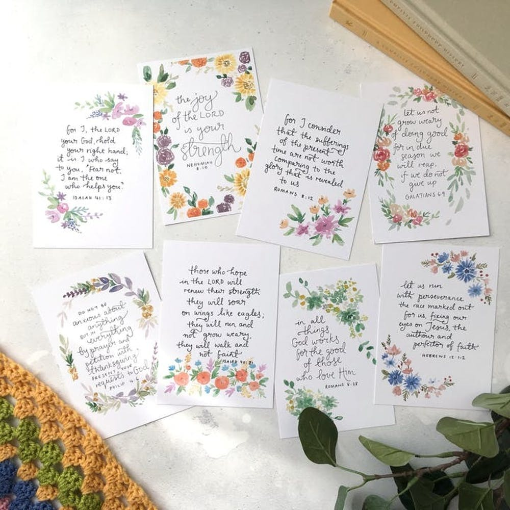 Pregnancy Set Scripture Cards | Zoeprose | Zoe Powell