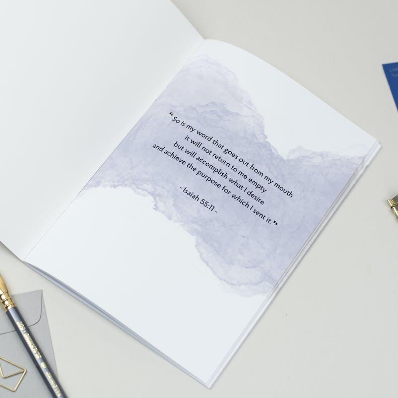 Prophetic Journal - Blue