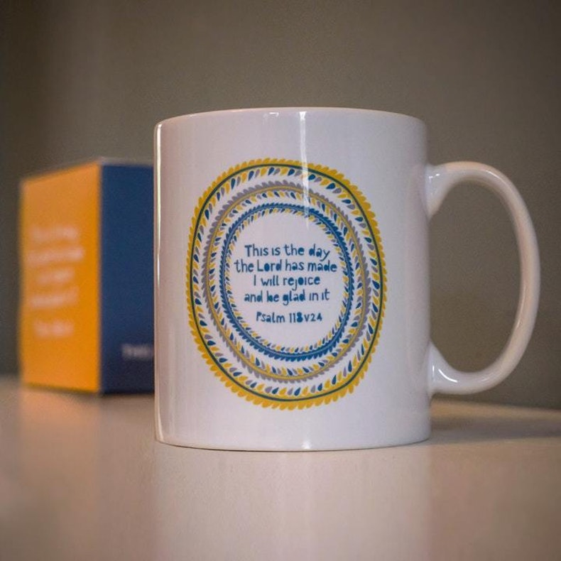 Psalm 118:24 Mug by Frog and Gnome