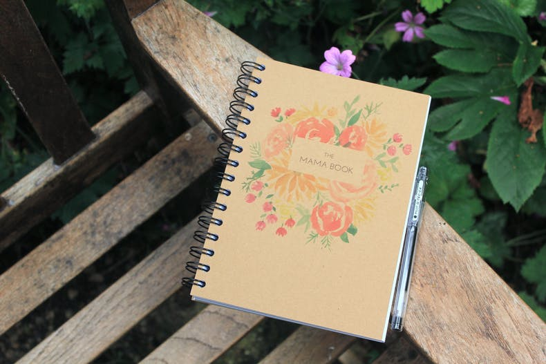 The Mama Book by Zoe Powell of Zoeprose
