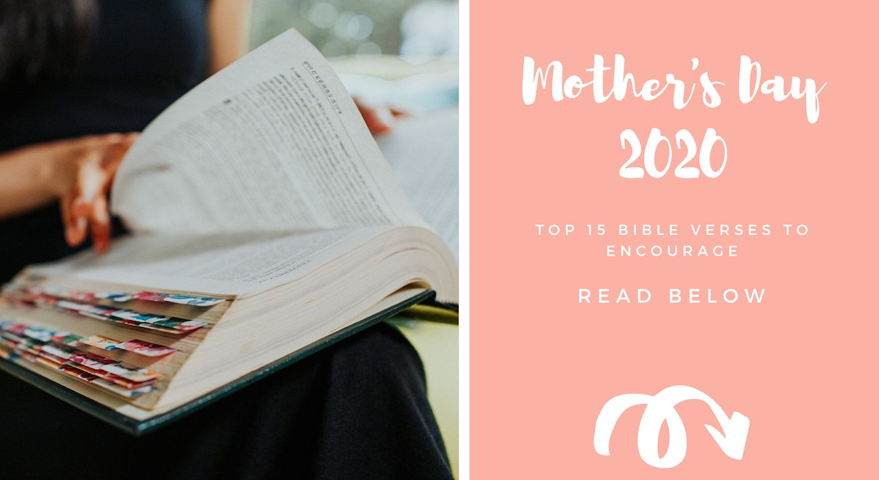 Top 15 Mother's Day Cards Bible Verses | Cheerfully Given | Mother's Day 2020