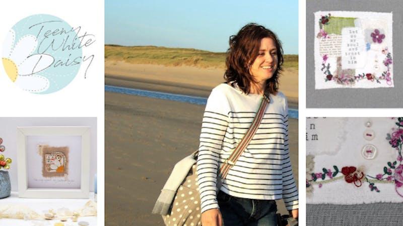 Blog Header Teeny White Daisy Maxine Geurts | Cheerfully Given