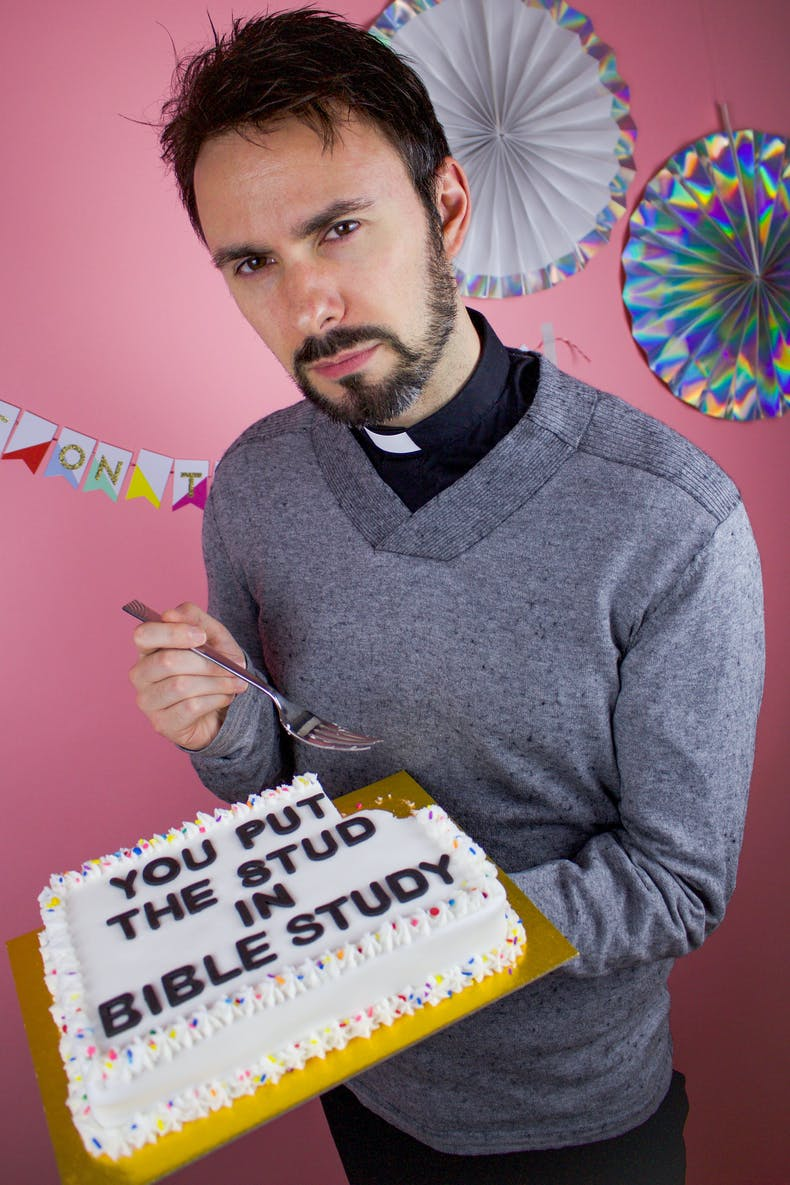 You put the stud in bible study