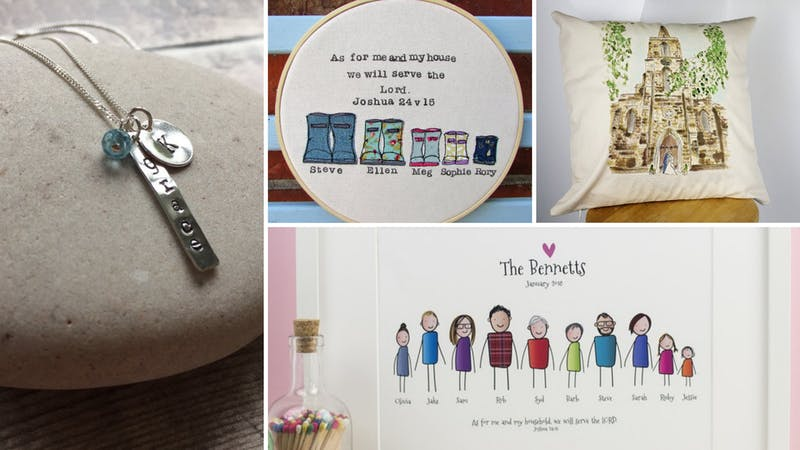 Personalised Christian Gifts at Cheerfully Given