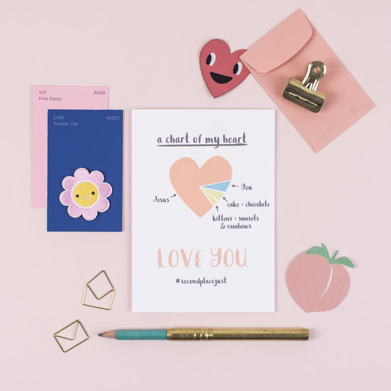 Things I Love Christian Valentines Card