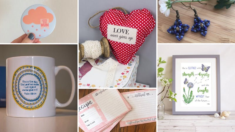 Under 10 Christian Mother's Day Gifts at Cheerfully Given