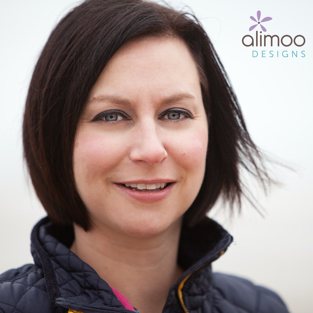 Headshot of Becky Dibb of Alimoo Designs for Cheerfully Given