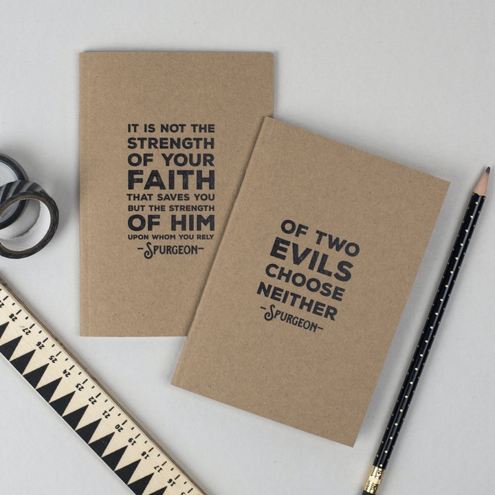 Charles Spurgeon Quotes Notebook Set