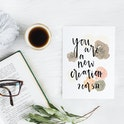 2 Corinthians 5:17 Card - You Are A New Creation - Christian Lettering Company