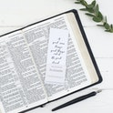 A Good Man - Scripture Bookmarks For Him - Christian Lettering Company