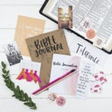 Bible Prayer Journal Starter Kit - Glory - Christian Lettering Company