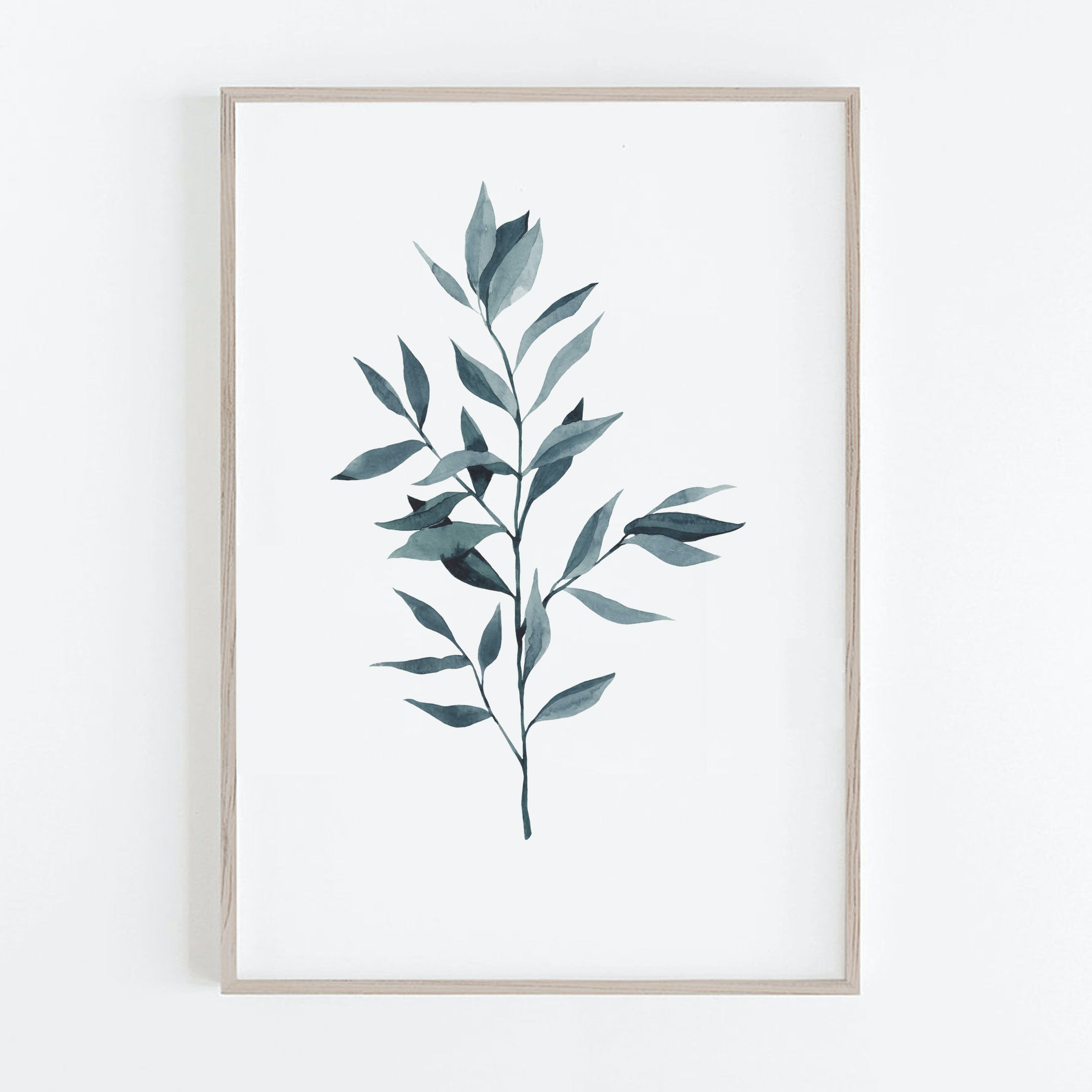 Blue Ruscus - The Word of Our God Print - Christian Lettering Company